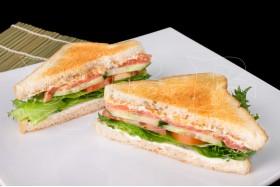 Сэндвич с Копченой красной рыбкой
