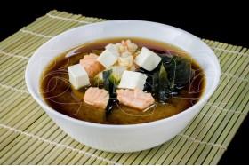 Мисо суп с морепродуктами