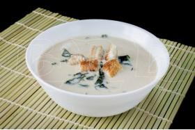 Сливочный суп с угрём
